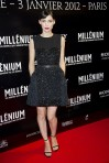 lookpurdy – Rooney Mara in Louis Vuitton – The Girl With The Dragon Tattoo Paris premiere 1