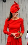lookpurdy – Catherine, Duchess of Cambridge in Alexander McQueen – Diamond Jubilee Thames River Pageant 9